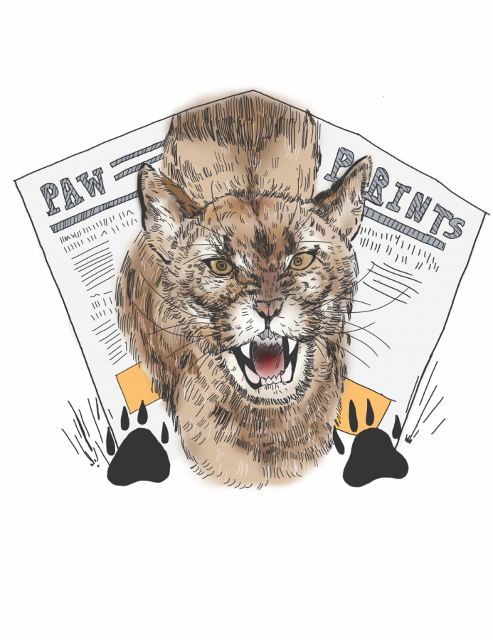2020-2021 Paw Prints Logo