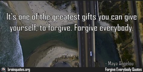 May Character Strong: Forgiveness